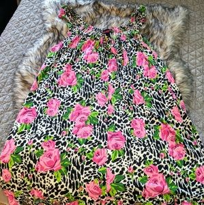 Betsey Johnson floral print nightgown